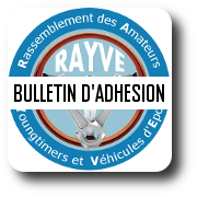 bulletin d'inscription du club rayve